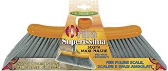 Für innenräume eignen sich besonders feine besen gut. Superissima Grosser Besen Speziell Zum Reinigen Der Winkel Von Treppen Geeignet Amazon De Kuche Haushalt