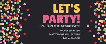 Customize 200 Party Invitation Templates In Seconds