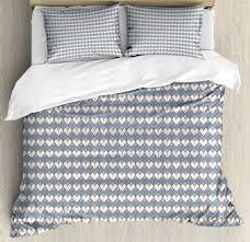 duvet cover set with pillow shams nested diamond print geometric line naqjrv2593 bedding sets duvet covers