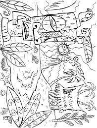 Small Picture Luau Coloring Pages