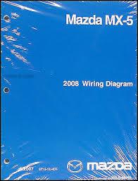 2008 mazda mx 5 miata wiring diagram original