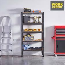 work expert 150 x 75 x 30cm metal shelves from 34 99 in diy telegraph