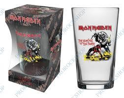 Sada Sklenic Iron Maiden The Number Of The Beast Prorockshop