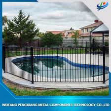 Pool Fence Designs Photos China Black Powder Coated Point Welded Aluminum Swimming