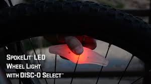 Spokelit Wheel Light Spokelit Led Wheel Light With Disc O Select