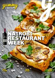 Abc Kitchen Restaurant Week Yummy Vol 15 Nairobi Restaurant Week 2016 By Yummy Issuu