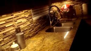 Led Kitchen Cabinet Lighting Hitlights Led Kitchen Dimmable Lighting Project Walkthrough Youtube
