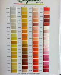 Exquisite B13070 Real Thread 300 Color Card Chart 40wt Poly