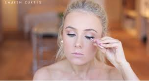 wear false eyelashes natural prom makeup tutorial pretty in pink prom makeup tutorial