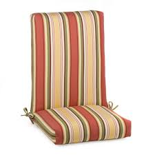 patio high back outdoor chair cushions home decor and design clear medium size