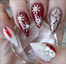 French Tip Nail Art Christmas - Best Nails 2018
