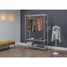 3 tier ecostorage rolling garment rack