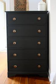 furniture paint sprayermatte black painted dresser using flat black paint  Home and