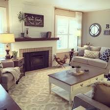 best 25 living room with fireplace ideas