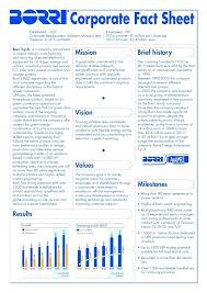 Company Fact Sheet Sample Corporate Fact Sheet Template Format E Company Free Microsoft
