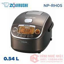 Nồi cơm điện cao tần áp suất Zojirushi NP-RH05 0.54L nội địa Nhật màu xám  2nd 95% (c)_Nồi Cao Tần IH_Nồi Cơm Đã Qua Sử Dụng - Trưng bày_Nồi Cơm Điện  Nhật_Điện
