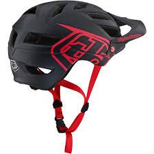 Troy Lee Designs A1 Troy Lee Designs A1 Drone Helmet Black Red