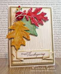 How To Make A Homemade Thanksgiving Card Festival Collections