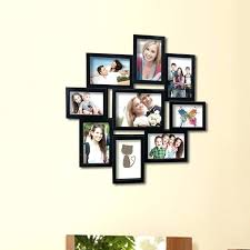 photo frame decoration wall 9 opening decorative wall hanging collage picture frame design photo frame wall