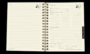 Recipe Journals Recipes A Cooking Journal