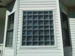 view glass block window
