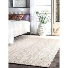 rugs hand woven white jute rug latest bedding black and round