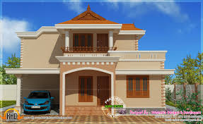 simple double storied house elevation kerala home design and