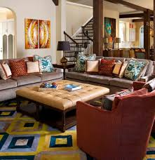 eclectic living room furniture. Living Room:Colorful Sofa For Eclectic Room With Grey Design Furniture