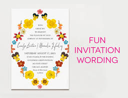 wedding invitation wording creative and traditional a practical Buy Evening Wedding Invitations fun wedding invitation wording Luau Wedding Invitation Templates