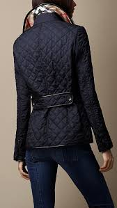 Best 25+ Quilted coats ideas on Pinterest | Quilted jacket, Bubble ... & Leather Trim Quilted Jacket | Burberry Adamdwight.com