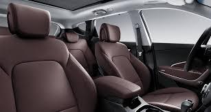 dark brown color seats interior