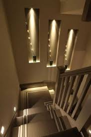 interior stairway lighting. Contemporary Interior Fun With U201cAccentu201d Lighting You Can Use To Emphasize Certain Aspects Of Your Inside Interior Stairway Lighting