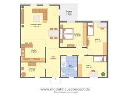 Grundriss Bungalow 4 Zimmer 130 Qm