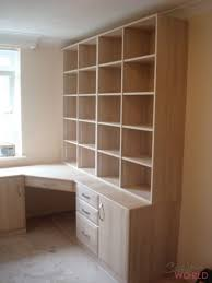 diy fitted office furniture. Desk And Shelves With Fitted Corner Drawers Diy Office Furniture O