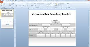 powerpoint family tree template genealogy presentation template how to make a management tree
