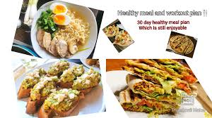 plan a whole month of healthy eating