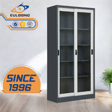 s show file cupboard with glass door sliding glass door cabinet office filing cabinet glass door display cabinet luoyang euloong office furniture