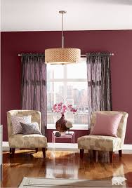 Maroon Living Room Furniture The Combination Of Behr Paint In Pink Mirage And Formal Maroon