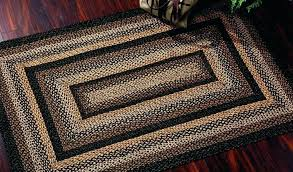 primitive country area rugs by primitive area rugs wool country awesome home decor rectangle braided