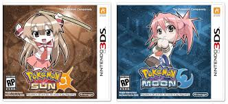 Pokemon Sun and Moon Game Covers (totally legit) : reddit.com