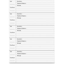 Phone Message Log Book Best Photos Of Printable Telephone Message Template