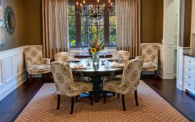 impressive inspired parson chairsin dining room traditional with winsome regarding allen and roth area rugs modern