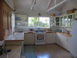 Retro Kitchen Flooring Retro Kitchen Design Ideas Warm Paint Accent Wall Colors Three