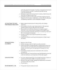 11+ Sales Job Description Templates - Pdf, Doc | Free & Premium ...