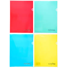<b>Папка</b>-<b>уголок</b> ClipStudio <b>A4 прозрачная</b>, 4 цвета в магазинах ...