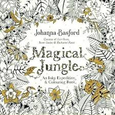 jungle coloring book magical jungle colouring gift gvine may baby and kids gift ideas magical jungle