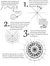 this is a quick tutorial about how my mandalas are made