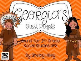 Creek And Cherokee Venn Diagram Georgias First People Creek And Cherokee Indians Social
