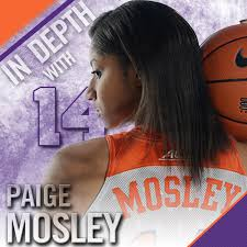 In Depth with Paige Mosley – Clemson Tigers Official Athletics Site