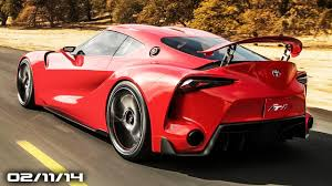 toyota supra 2014 ft1. Brilliant 2014 Toyota FT1 Supra S60 U0026 V60 Polestar Police Veyron 2015 Subaru Legacy  Doing It Wrong  YouTube Throughout Supra 2014 Ft1